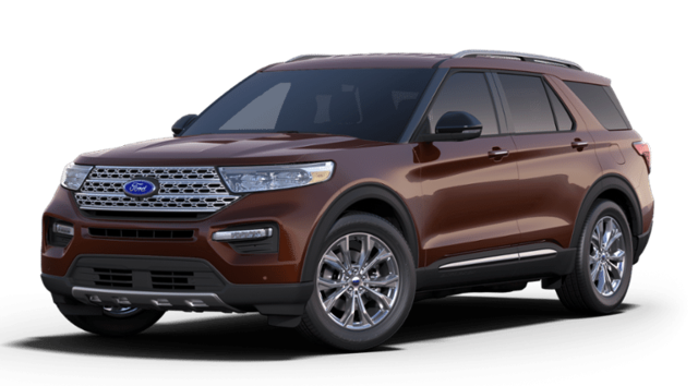 New 2020 Ford Explorer Limited 4WD Sport Utility in Jackson, OH